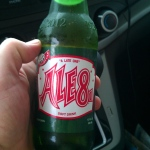 If you ever need to settle your stomach in Kentucky, I recommend Ale 8 One