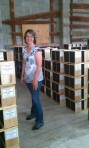 Jennifer made magic happen.  The cold, wet spring has the package industry in disarray and she rearranged, from the thousands of packages Kelley delivers, our 100 colonies