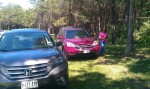 We're a CRV family.  My other sister, Anne, drives one in Uganda too