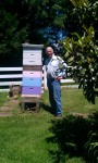 George Backyard Hive